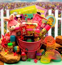 Little Pink Bunnies Easter Fun Pail