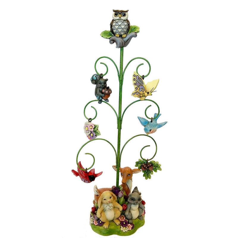 Spring Tree with Ornaments Figurine