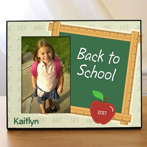 Personalized Back To School Printed Frame