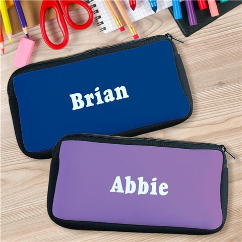 Custom Printed Name Pencil Case