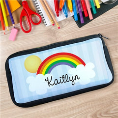 Over The Rainbow Personalized Pencil Case