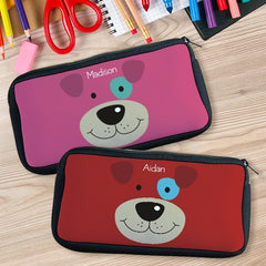 Personalized Puppy Pencil Case