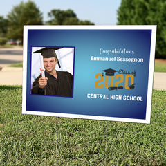 Graduation Yard Sign