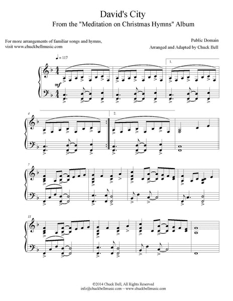 Meditation on Christmas Hymns - SM - COMPLETE THREE VOLUME SET - SHEET MUSIC - Digital Download