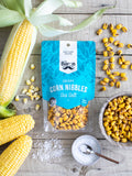Crispy Corn Nibbles - Sea Salt 100g