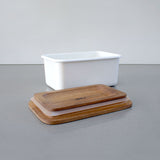 Medium Enamel Storage Container by Chabatree