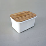Small Enamel Storage Container by Chabatree