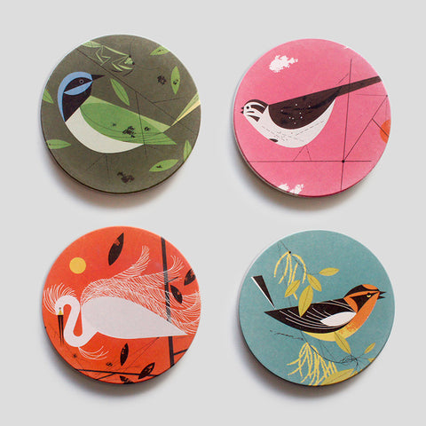 Feathered Friends Coaster Set