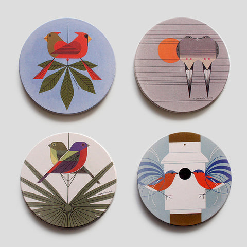 Love Birds Coaster Set