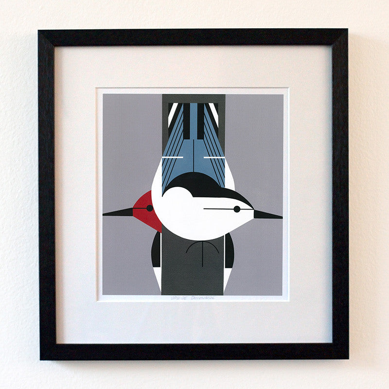 Upside Downside print by Charley Harper 1
