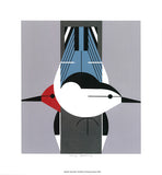 Upside Downside print by Charley Harper 4