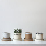Pyramid Planter by Jane Kelsey, Dot & Co