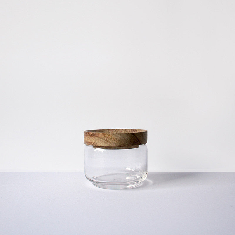 Small Glass Jar by Chabatree