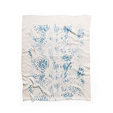 Monarch Scarf in Blue by Lee Coren