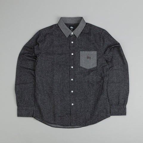 Brushed Chambray Mix Up (Charcoal)
