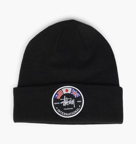 International Flags Beanie (Black)