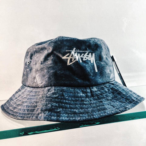 Tree Camo Bucket Hat (Blue)