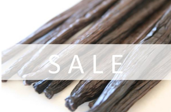 500 grams Vanilla Beans - SALE