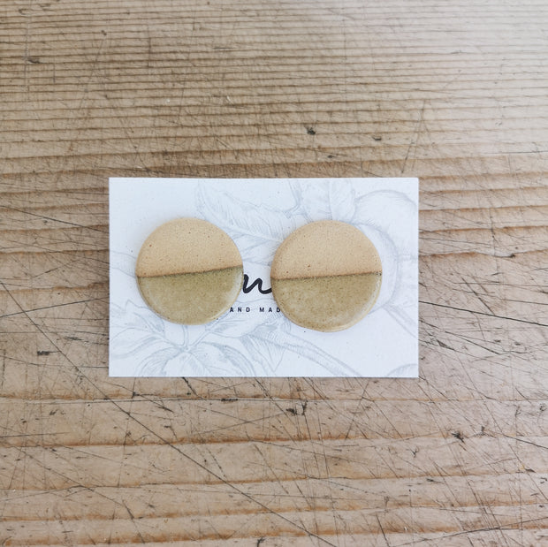 Handmade Ceramic Earrings # 5