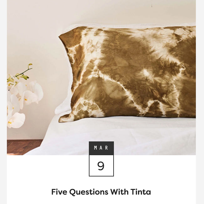 The Finders Keepers: 5 Questions with Tinta