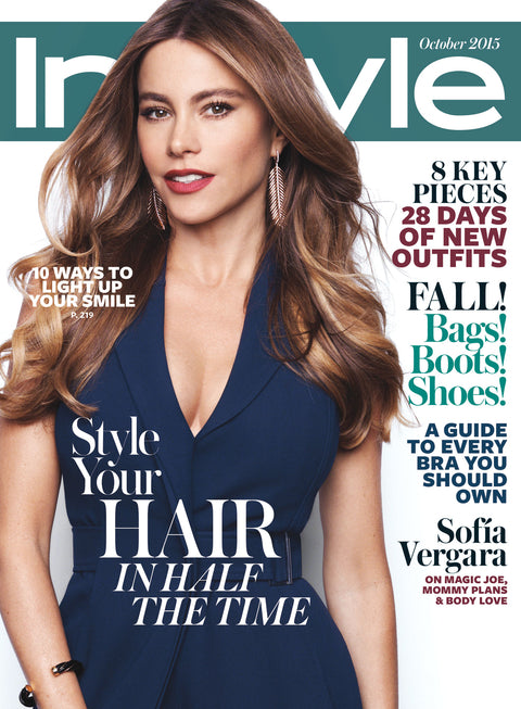 October 2015 Instyle Magazine