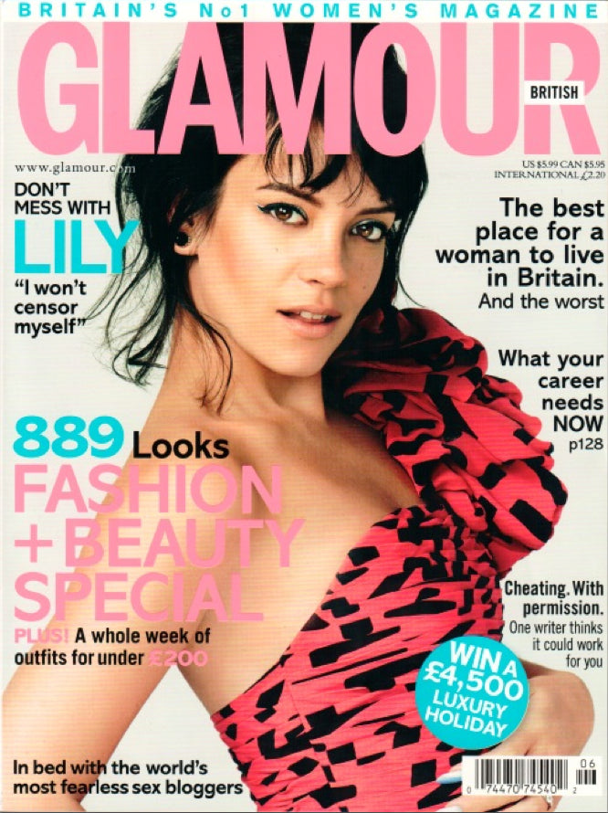 June 2014 Glamour UK