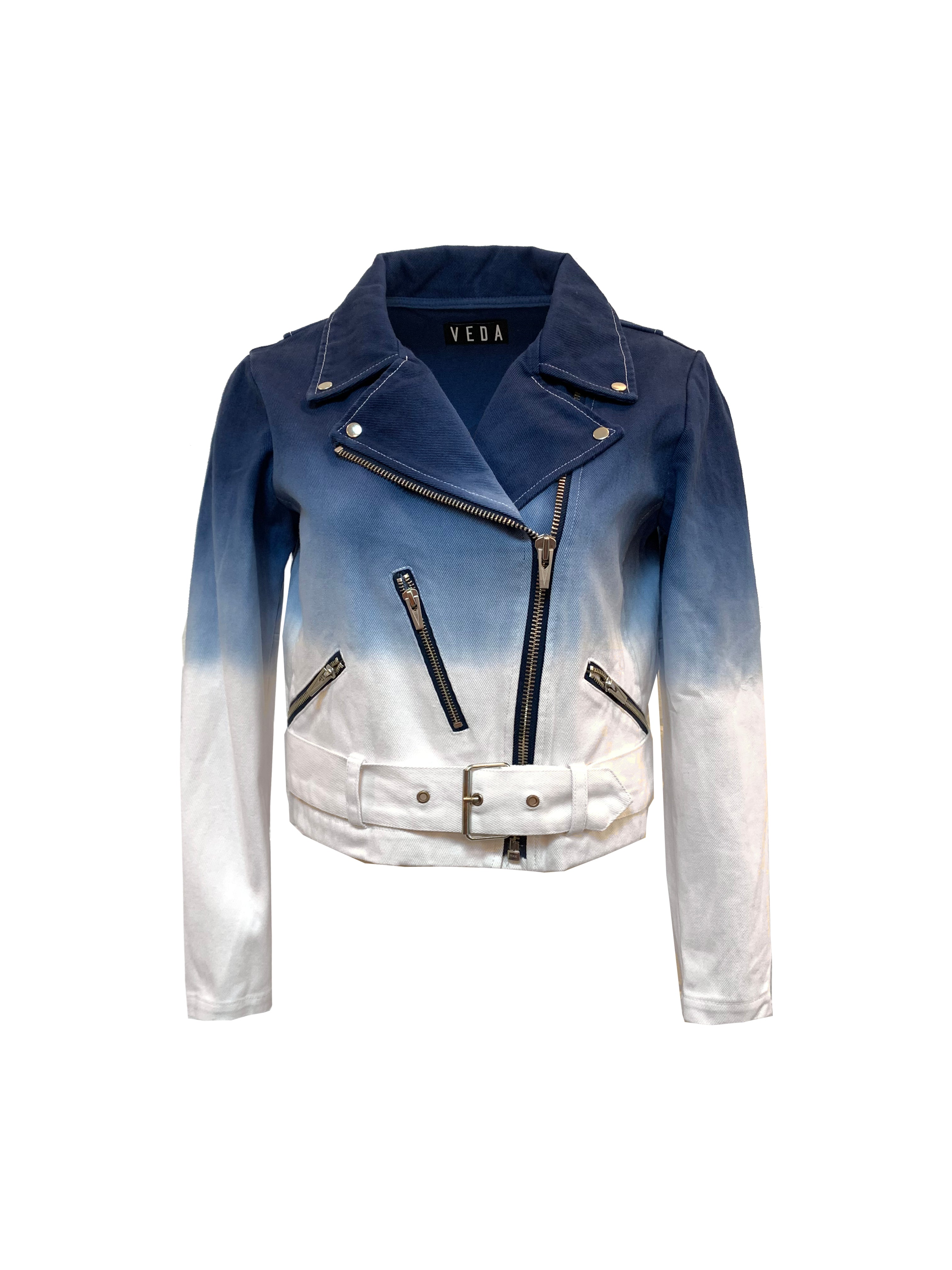 Capitol Denim Jacket Dip Dye