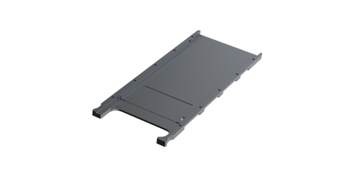 MTCA.3 Single Wide Module Bottom Cover