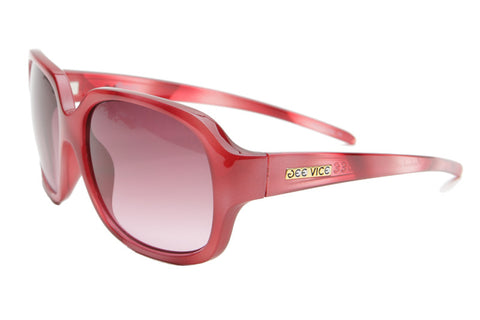 Cherry Jubilee / Grey Fade to Rose