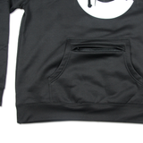 The Mountain Vandal Poly Pullover in Black