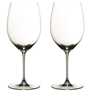 To stykk Riedel Veritas Cabernet/Merlot glass