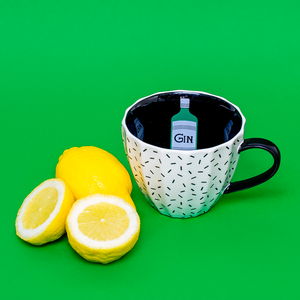Tatty Devine og KBJ kopp Gin, 350 ml.