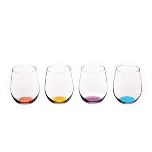 Riedel farget glass Happy O 4 pk Vol. 2