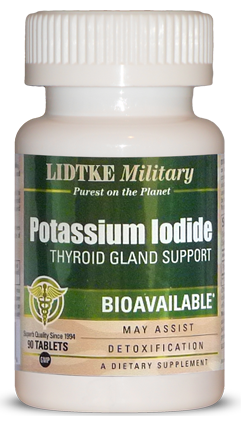 Potassium Iodide product bottle photo