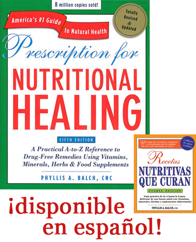 Image of book Prescription For Nutritional Healing - Fifth Edition