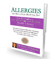 Allergies: Fight Them with the Blood Type Diet product photo