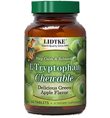 L-Tryptophan Chewable Green Apple product photo
