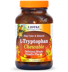 L-Tryptophan Chewable Maple Vanilla product photo