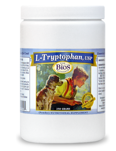 ryptophan, USP For Pets - 250 grams powder