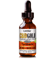 CBD GOLD with Turmeric product photo