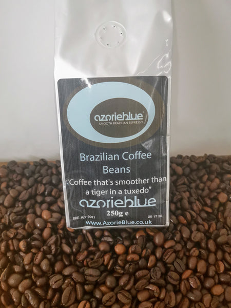 'Azorieblue' Brazilian Coffee Beans 250g (locally roasted)