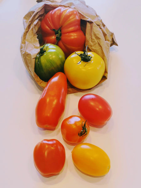 **New In** English heritage tomatoes 500g