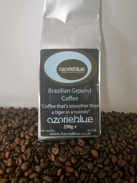 'Azorieblue' Brazilian Ground Coffee 250g (locally roasted)