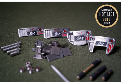 THE EAS PUTTER LINE BRINGS HOME TWO GOLF DIGEST HOT LIST GOLD MEDALS