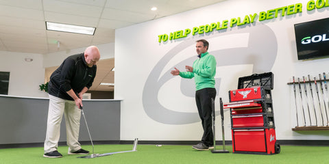 edel golf club eas putter fitting golftec
