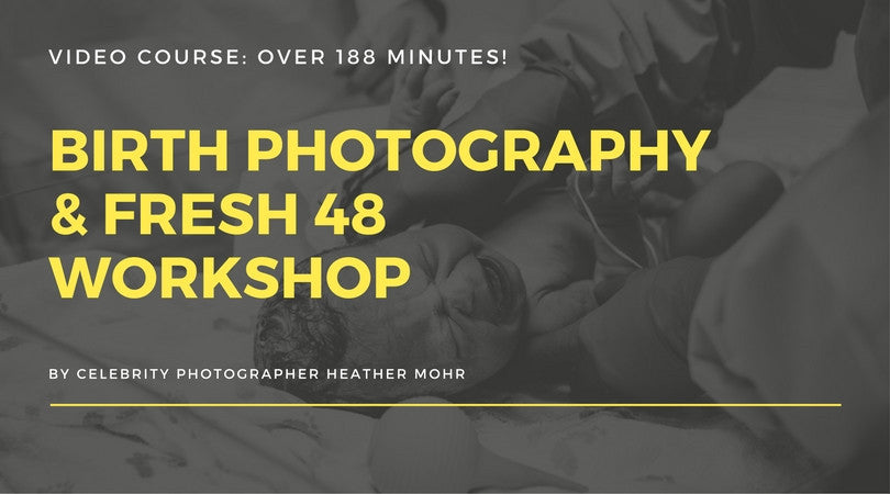 Live Ask A Pro Photographer with celebrity birth photographer Heather Mohr