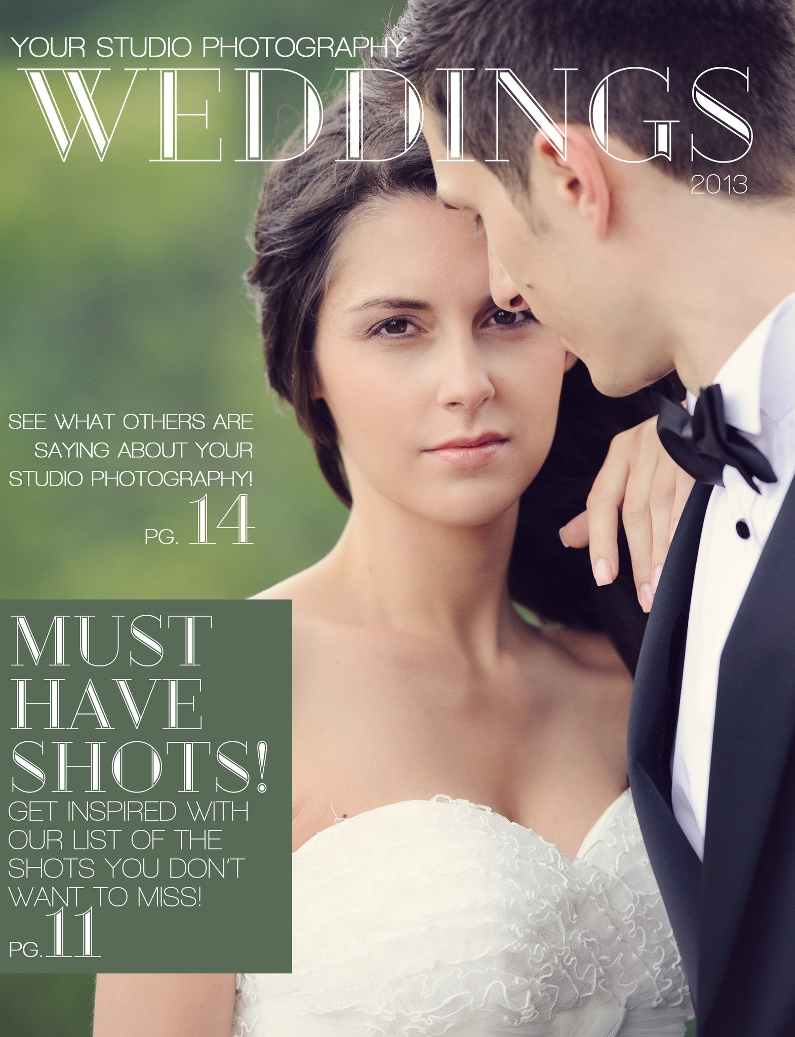 wedding client guide wedding magazines Wedding Magazine Welcome Packet Template 1st Edition