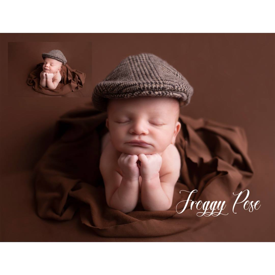 Brand new newborn posing videos step by step instructions on how to pose