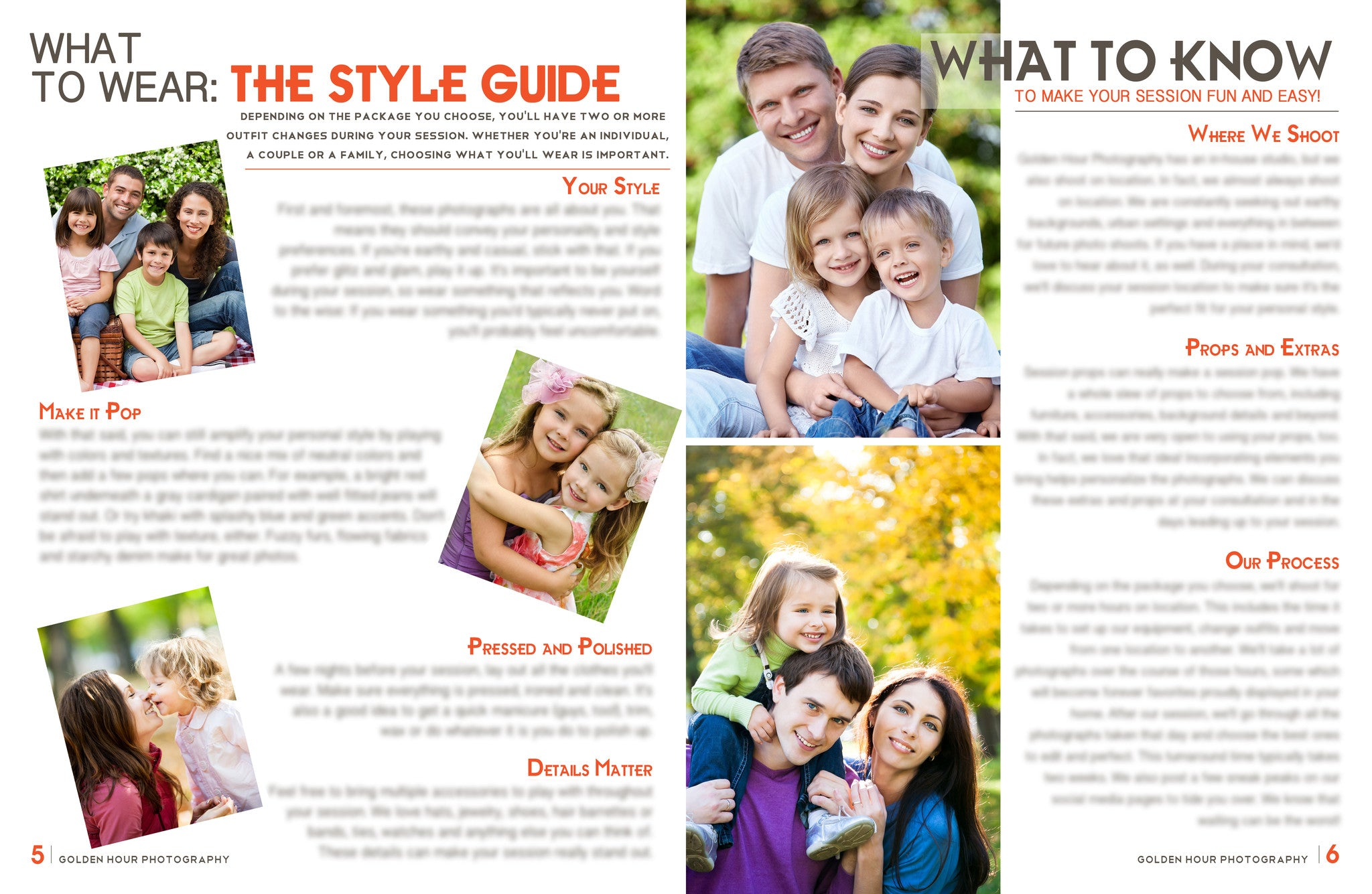 Portrait Magazine Welcome Packet Template {1st Edition} - BP4U Guides