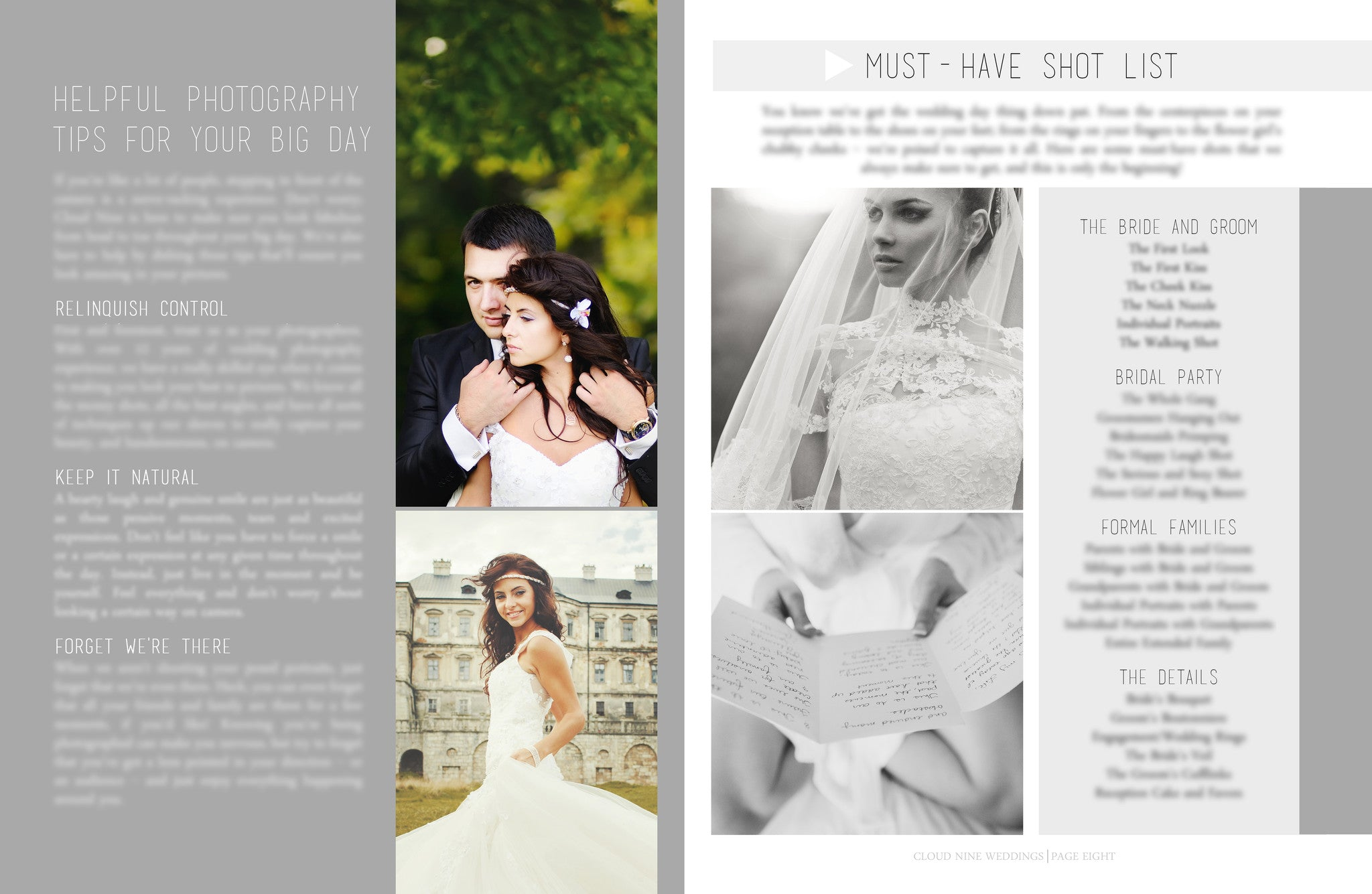 Wedding Team Welcome Packet Template | BP4U Guides